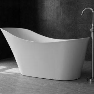 Alice White Freestanding Bath