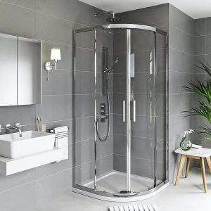 quadrant shower doors