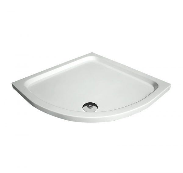 slimline quadrant shower tray