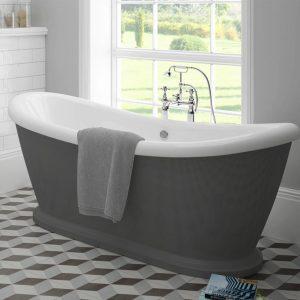 Alexander Grey Freestanding Bath