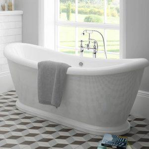 Alexander White Freestanding Bath