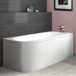 ARC Single Ended J Shaped Bath