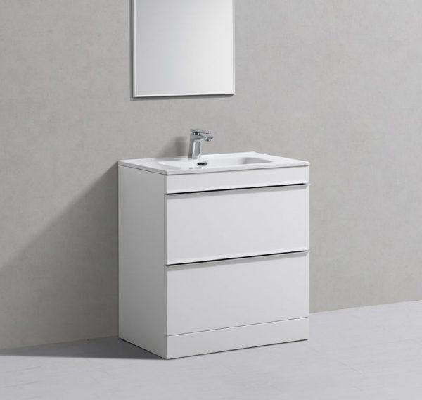 Cava Floorstanding Vanity Unit White
