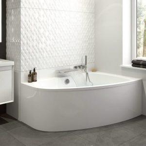 Orlando Offset Corner Bath