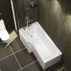 Adara Left Hand L Shape Bath