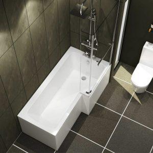 Adara Right Hand L Shape Bath