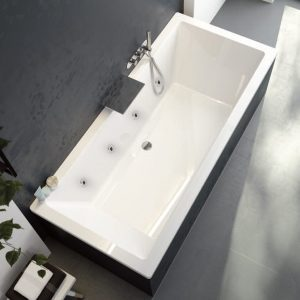 Pacific Endura Double Ended 8 Jet Whirlpool Bath