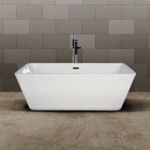Qube Freestanding Bath