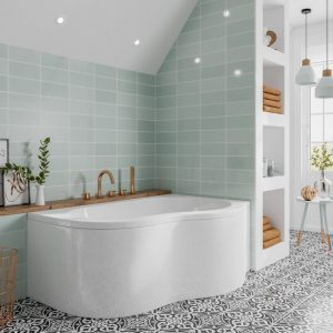 Quebec Luxury Corner Bath