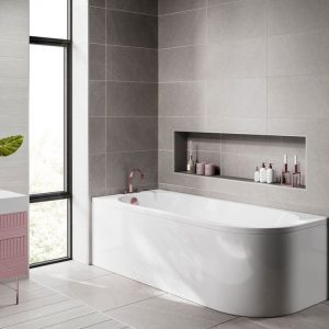 Tritan J Shaped Bath