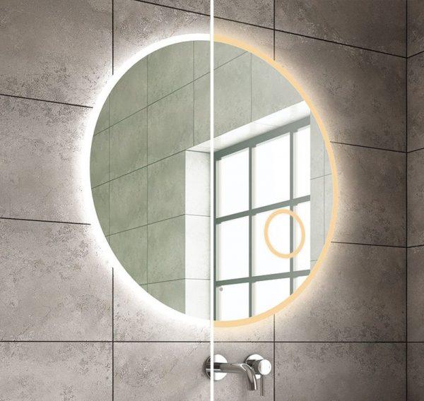 ador round led mirror