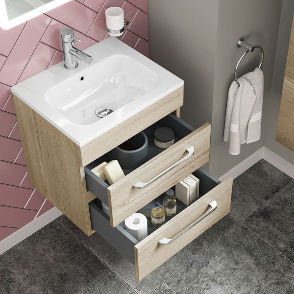 Ares wall hung vanity unit