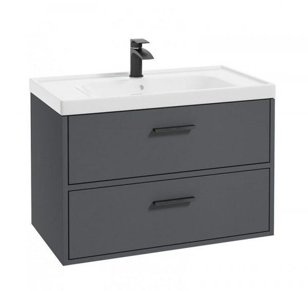 finland vanity unit grey