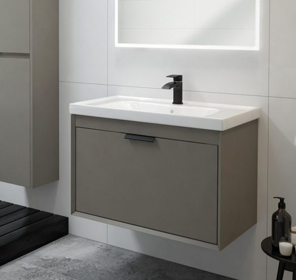 fjord vanity unit khaki