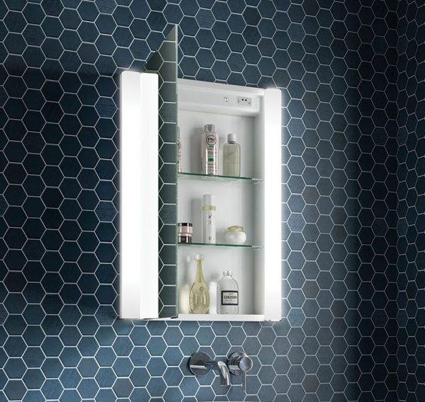 recessable led cabinet