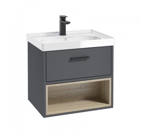 malmo vanity unit grey