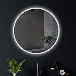 Sansa Round lED Mirror