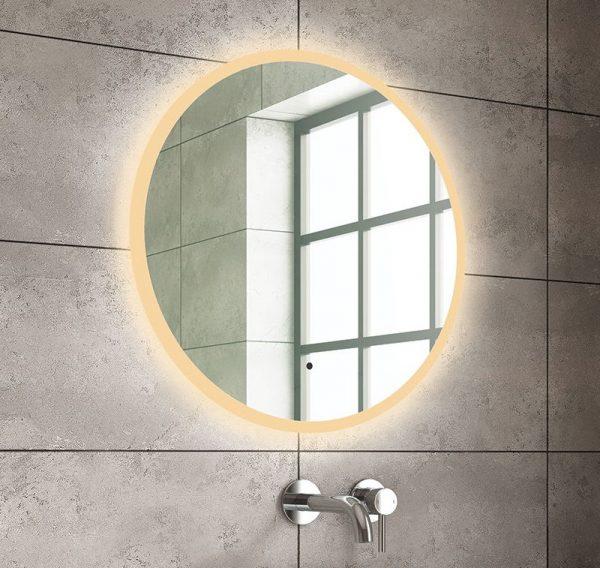 Neza round LED mirror
