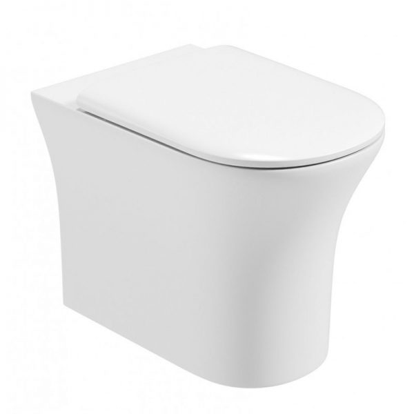 Amanda Back to Wall Toilet
