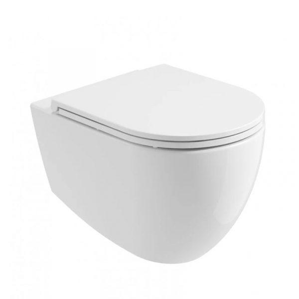 Ceramic White Wall Hung Toilet
