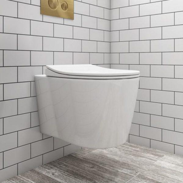 Scala Wall Hung Toilet