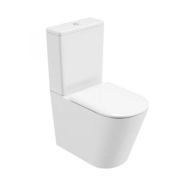 semi rimless toilet
