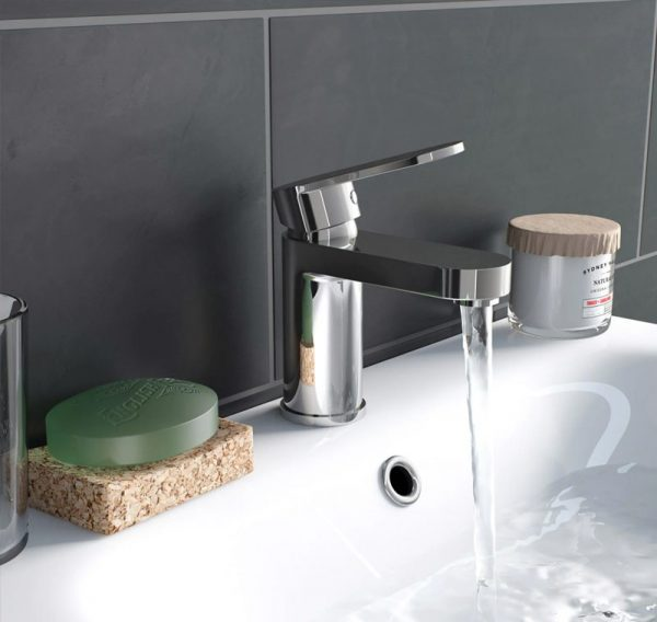 chrome basin mono