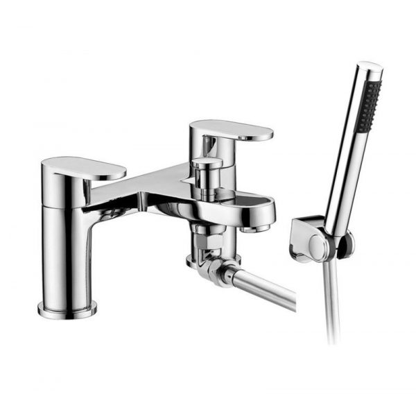 chrome bath shower mixer