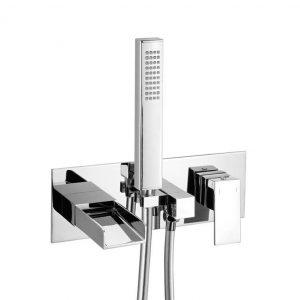 Stream Wall Mounted Bath Shower Mixer