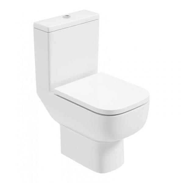 rubix close coupled toilet