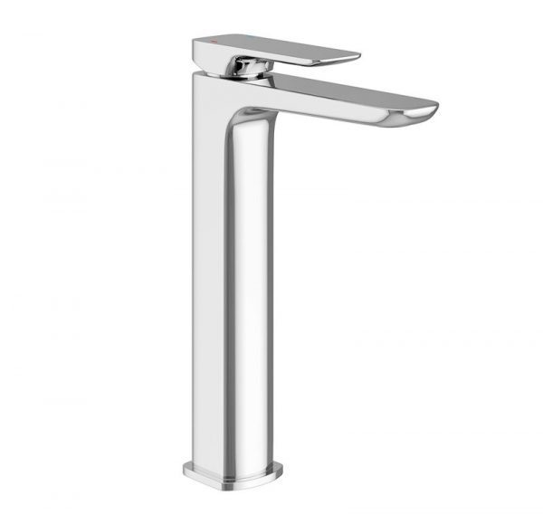 Chrome basin tap