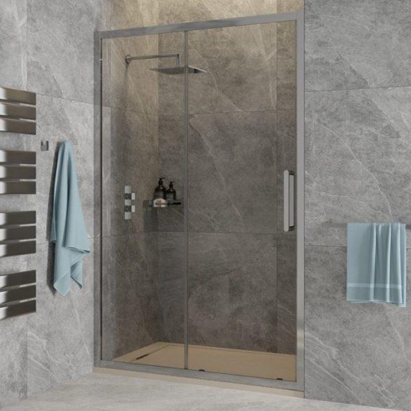 aspect sliding shower panel