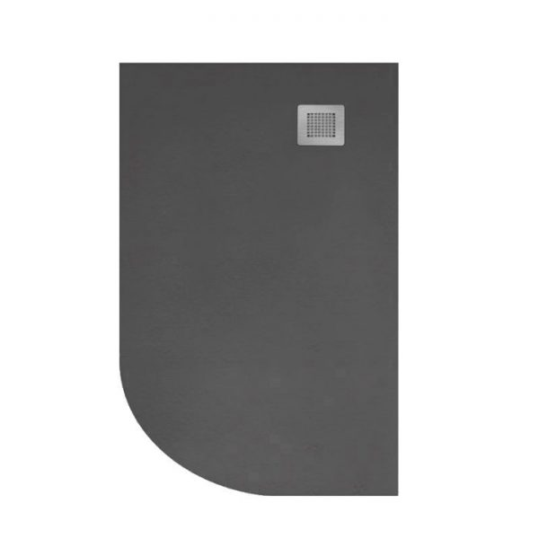 Quadrant slate shower tray