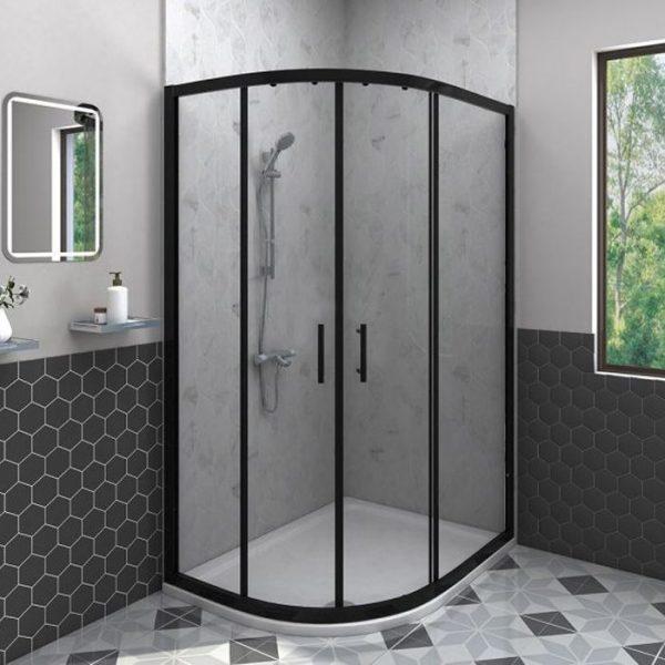 Black 2 door quadrant
