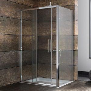 design 8 sliding shower door