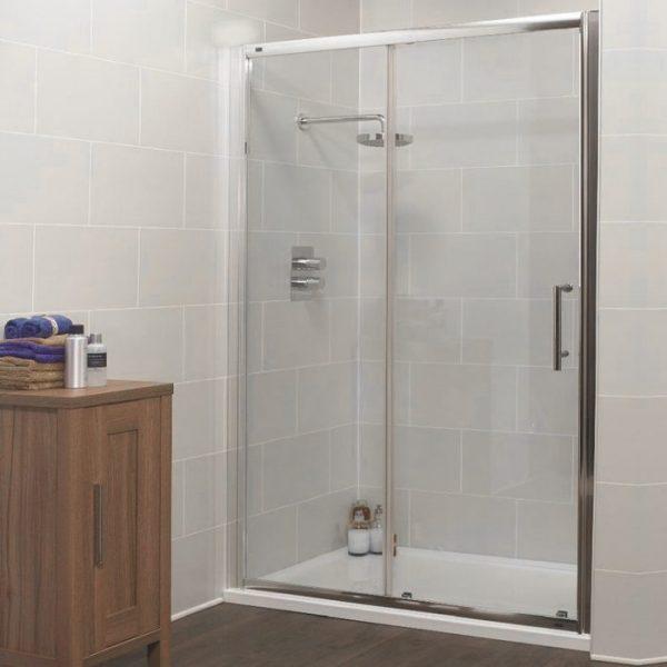 K2 sliding shower door