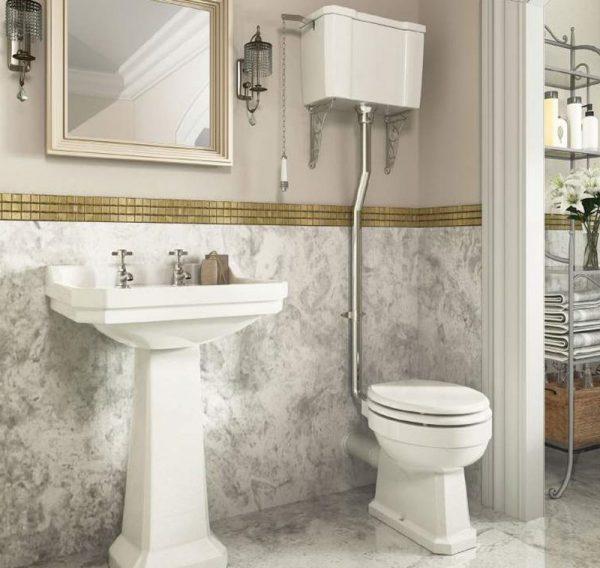 oxford high level toilet