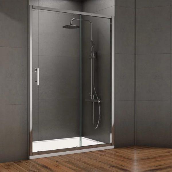 style sliding shower door