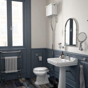 Westbury high level toilet