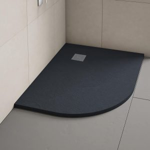 Offset Quadrant Slate Shower Tray