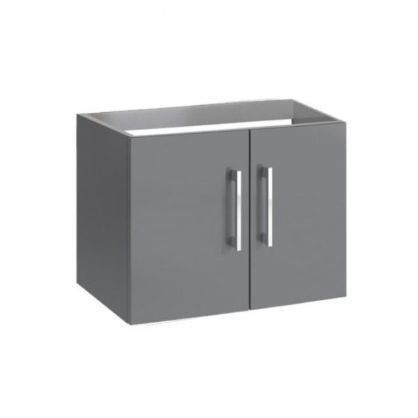 Anthracite wall hung vanity