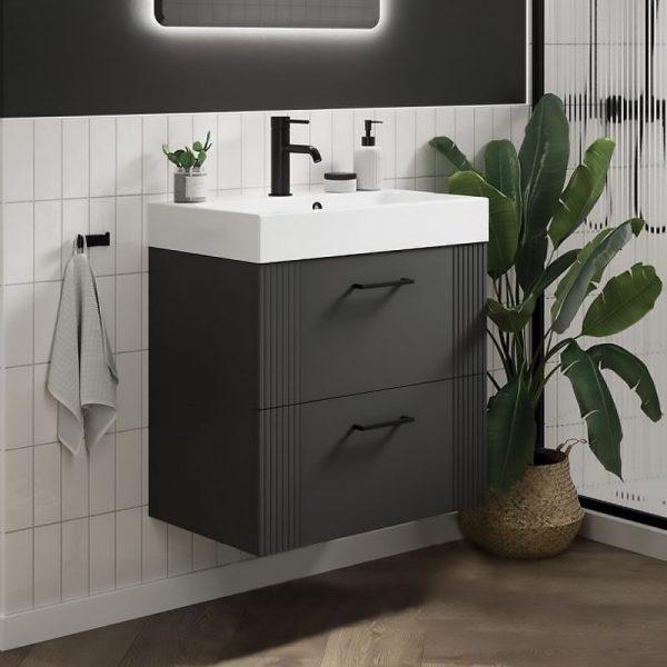 Turin wall hung vanity unit