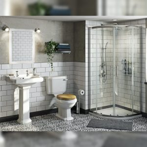 Westbury Traditional Shower Suite