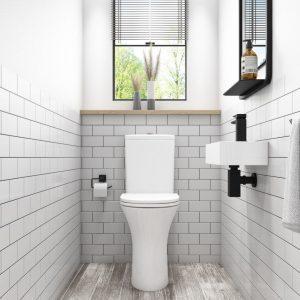 cloakroom bathroom package