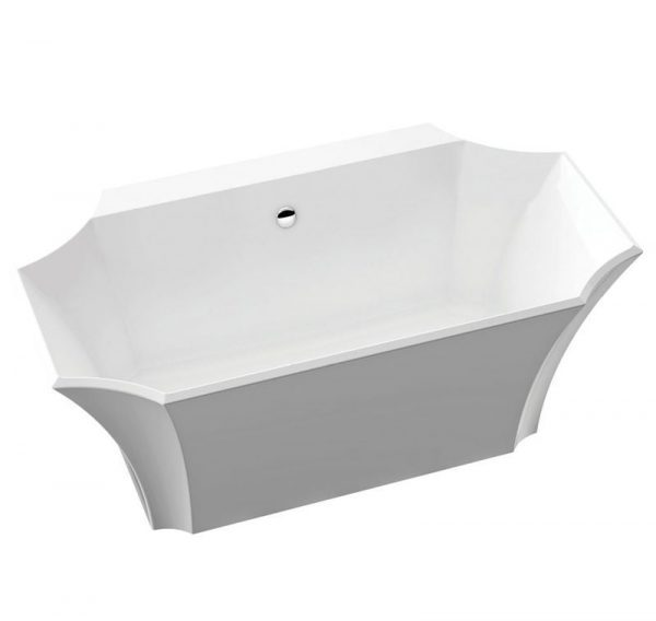 Grace White Freestanding Bath