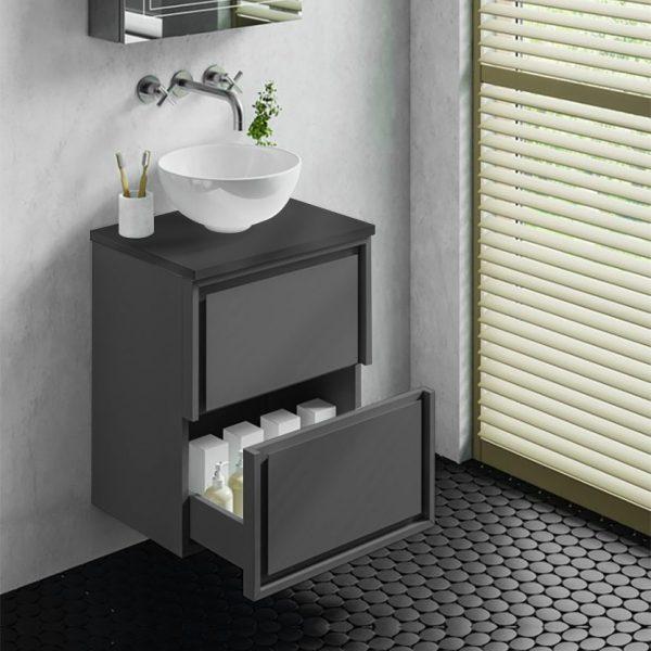 sonia wall hung vanity unit